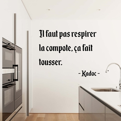 Stickers Citation Kaamelott Kadoc compote