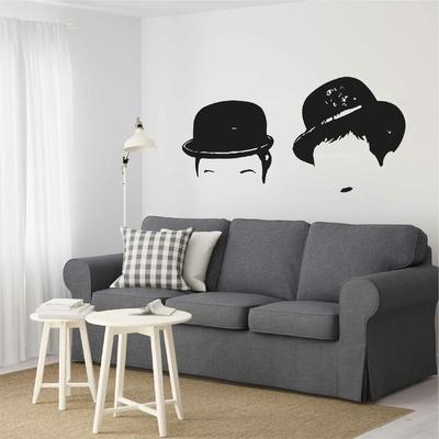 Stickers Charlie Chaplin Chapeaux