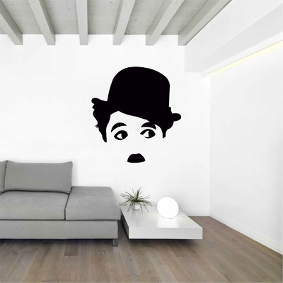 Stickers Charlie Chaplin Portrait