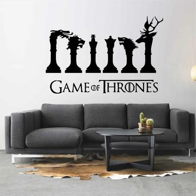 Stickers Game of Thrones échecs