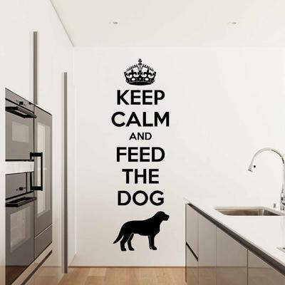 Stickers Chien Keep Calm Labrador