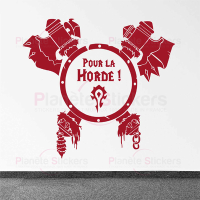 Stickers pour la Horde Bouclier WoW