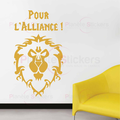 Stickers pour l'alliance World of Warcraft