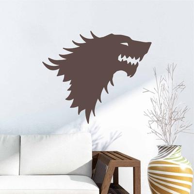 Stickers Tete de loup
