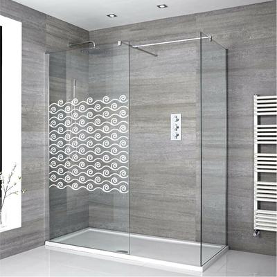 Stickers Porte de douche depoli air