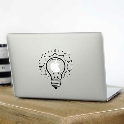 Stickers pour Mac ampoule