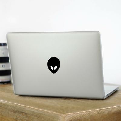 Stickers pour Mac Alien Face