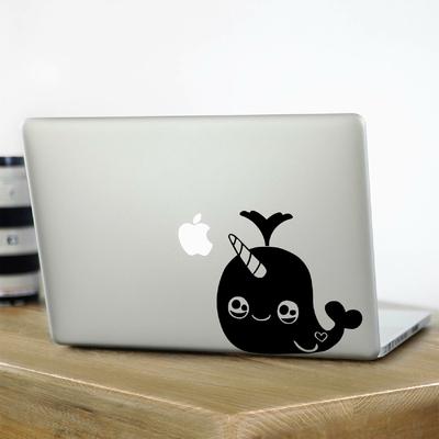 Stickers pour Mac Baleine Kawaii