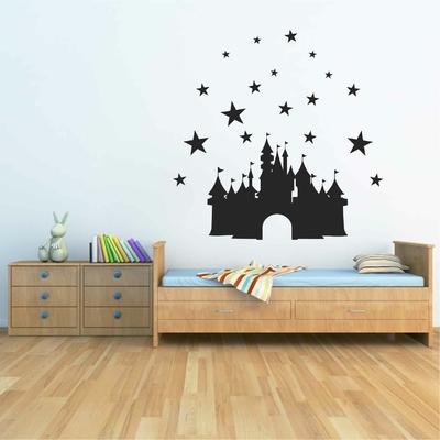 Stickers Chateau Princesse Étoiles