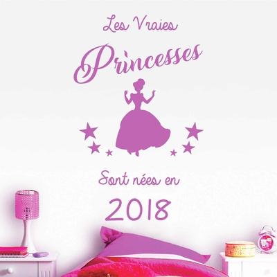 Stickers Princesse 2018