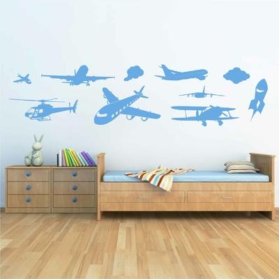 Stickers Avion Fresque