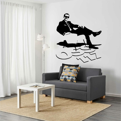 Stickers OSS 117 Silhouette