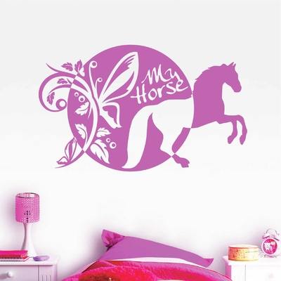 Stickers Cheval My Horse
