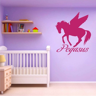 Stickers Cheval Pegasus