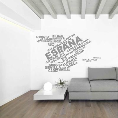 Stickers Espagne ecritures
