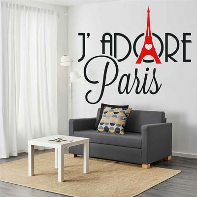 Stickers J'adore Paris