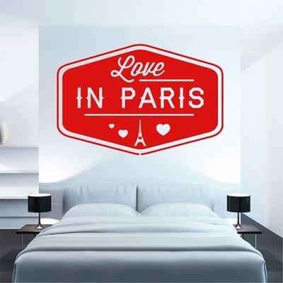 Stickers Love in Paris