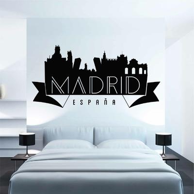 Stickers Madrid espana