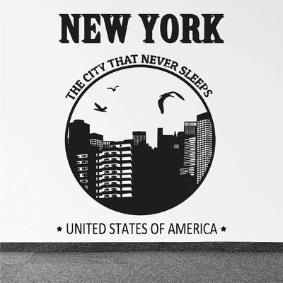 Stickers New York Design