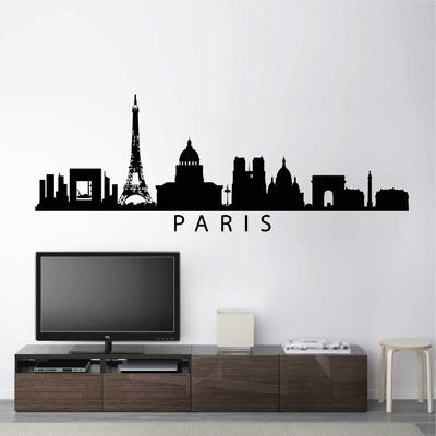 Stickers Paris Skyline