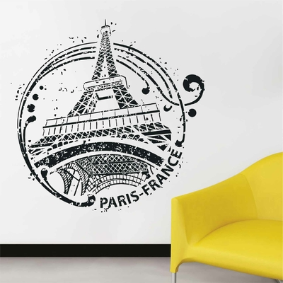 Stickers Tour Eiffel Tampon