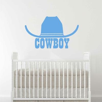 Stickers Cowboy Chapeau