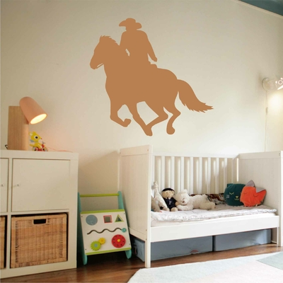 Stickers Cowboy Galop