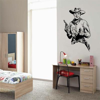 Stickers Cowboy revolver