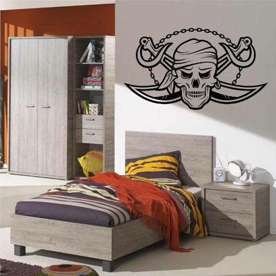 Stickers Chambre Pirate