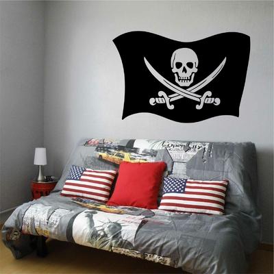 Stickers Drapeau Pirate