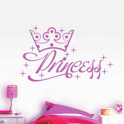 Stickers Little Princess couronne