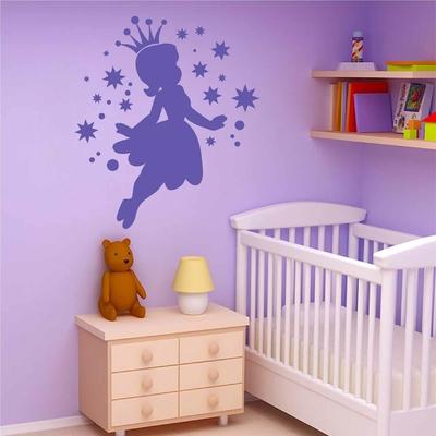 Stickers Princesse étoiles