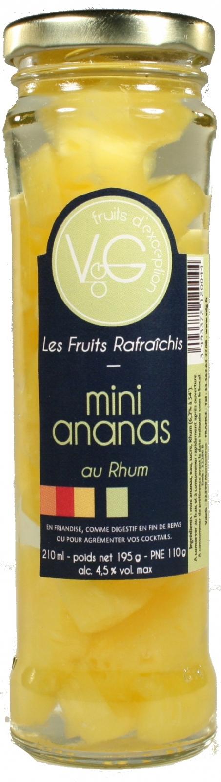 Mini ananas Rhum Verger de Gascogne