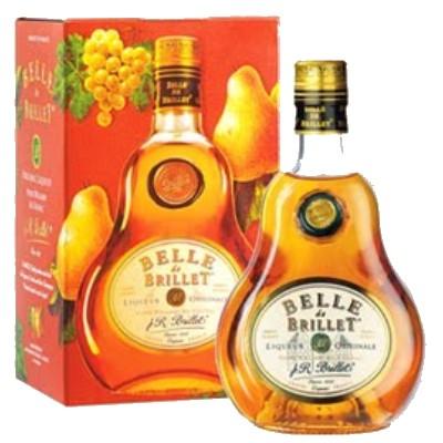 Belle de Brillet : Liqueur de Poire Williams au Cognac 30° 70 cl