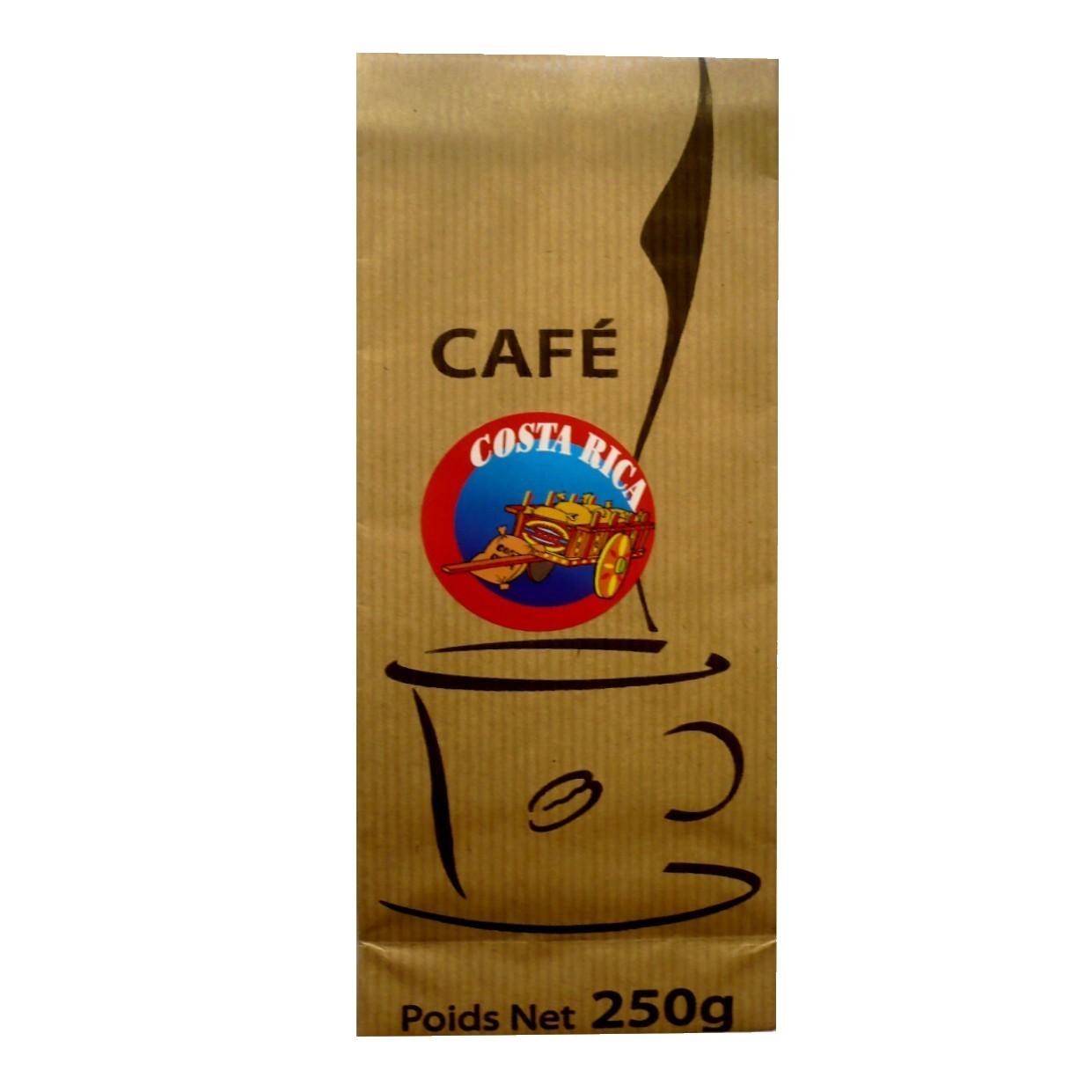 Caf du costa rica 250 g complet fin parfum torr fi - Comptoir gourmand toulouse ...