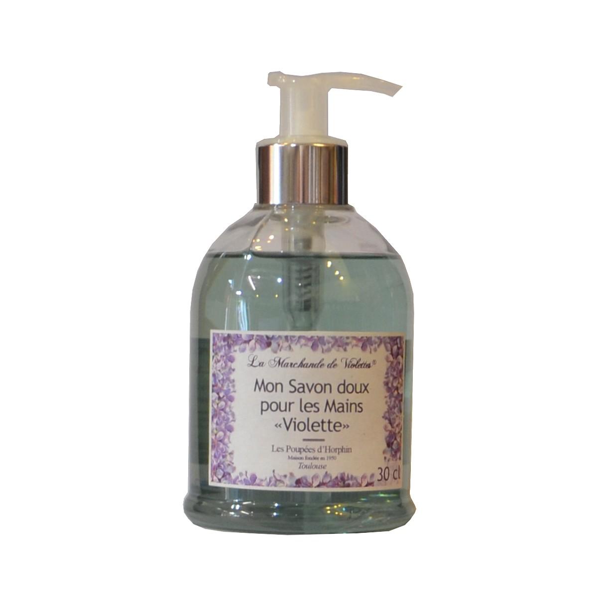Mon savon doux pour les mains Violette
