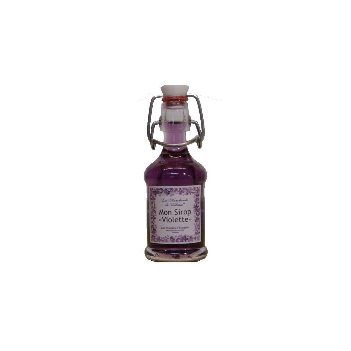 Sirop de violette 5 cl violette de toulouse comptoir des d lices - Sirop de violette ...