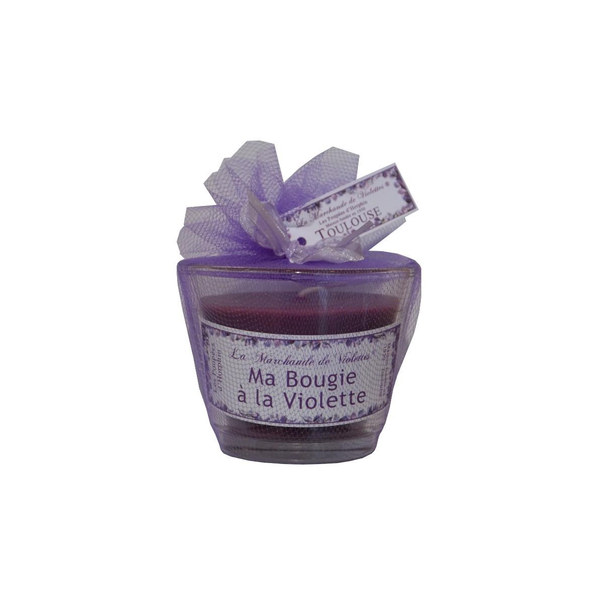 Ma bougie la violette la marchande de violette - Comptoir gourmand toulouse ...