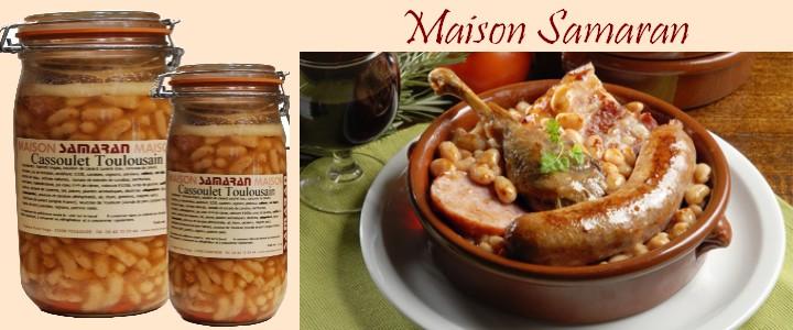 Cassoulet à la saucisse de Toulouse et manchons de canard