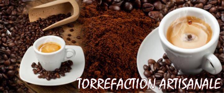Café en gain, café moulu