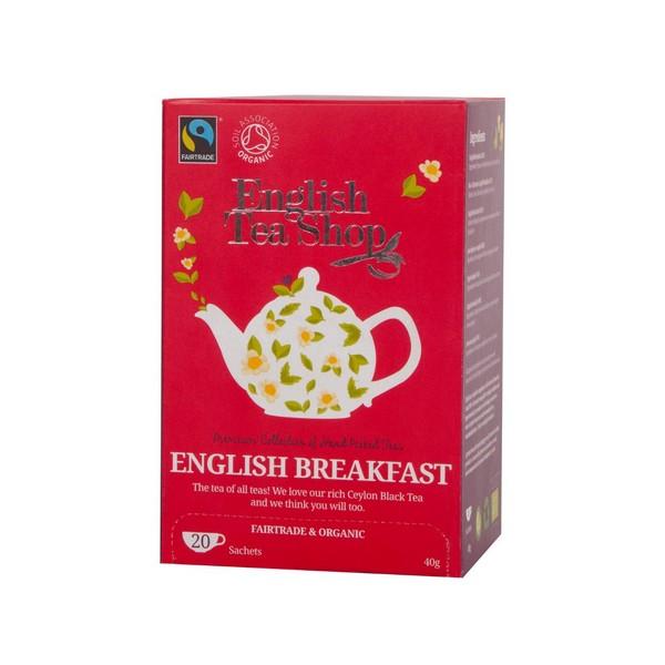 Thé noir English Breakfast BIO - 20 sachets