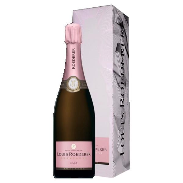 Champagne rosé Roederer