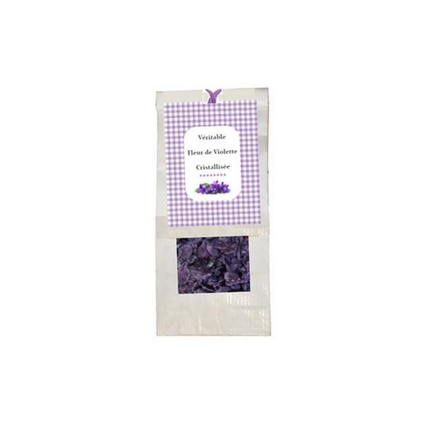 V ritable fleur de violette cristallis e sachet 100 g - Comptoir gourmand toulouse ...