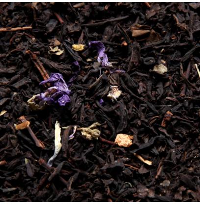 Thé noir parfumé à la Violette fleur