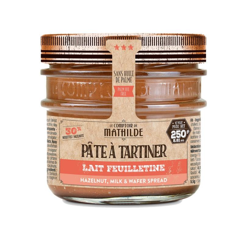 Pâte à tartiner Lait Feuilletine - 250g