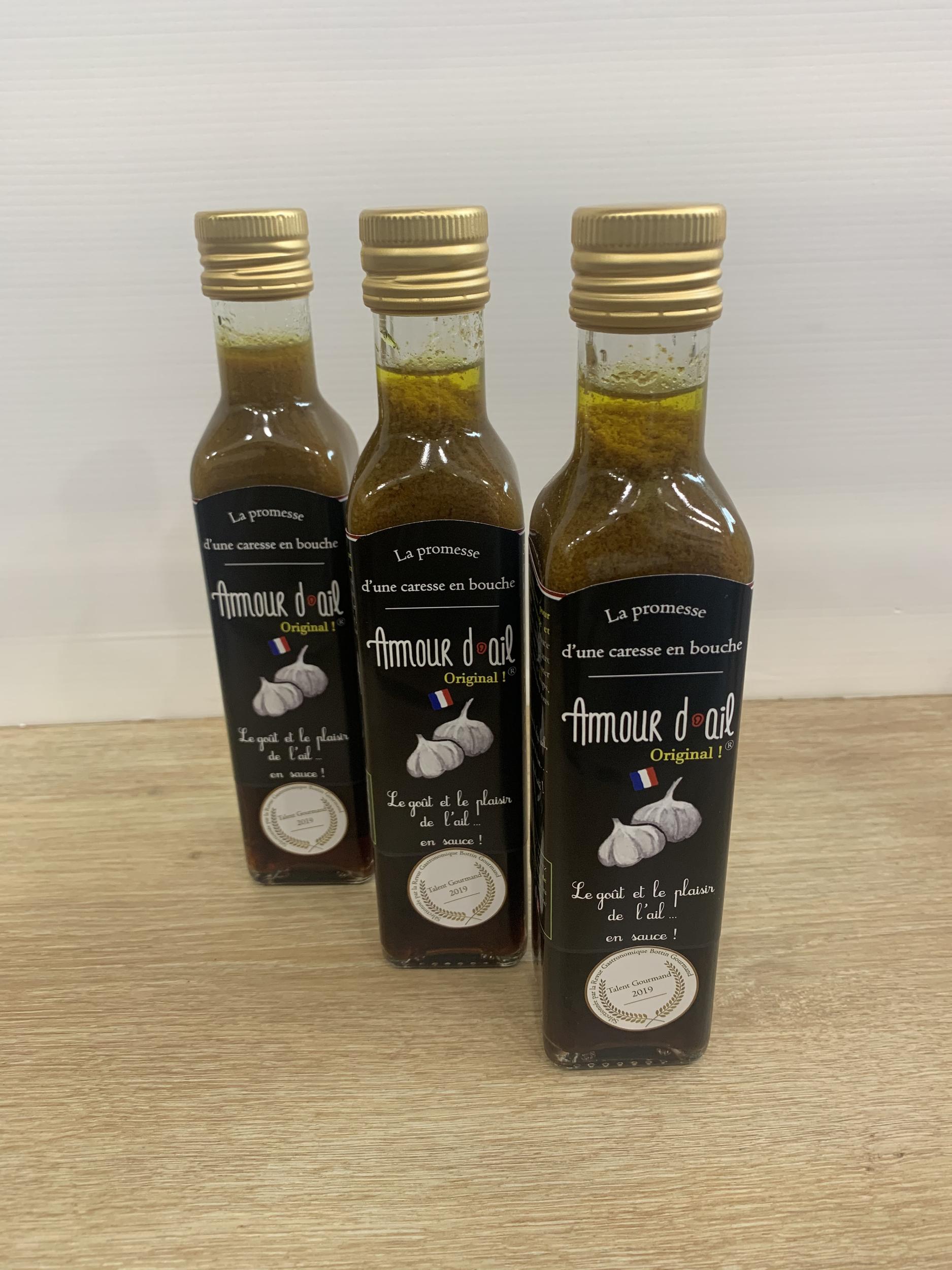 Sauce vinaigrette à l\'ail - Amour d\'ail original