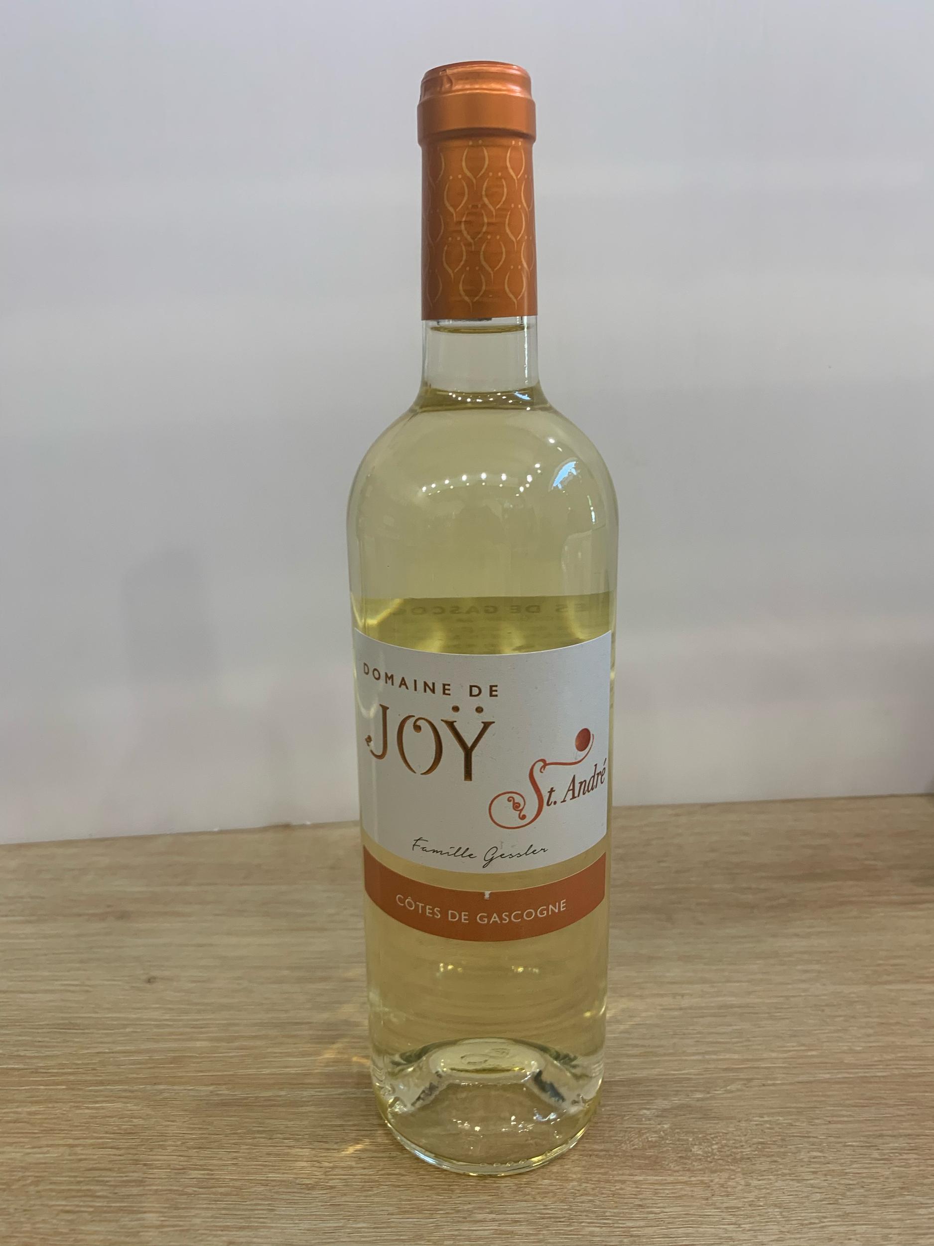 Côtes de Gascogne moelleux Joy -Saint André 75 cl
