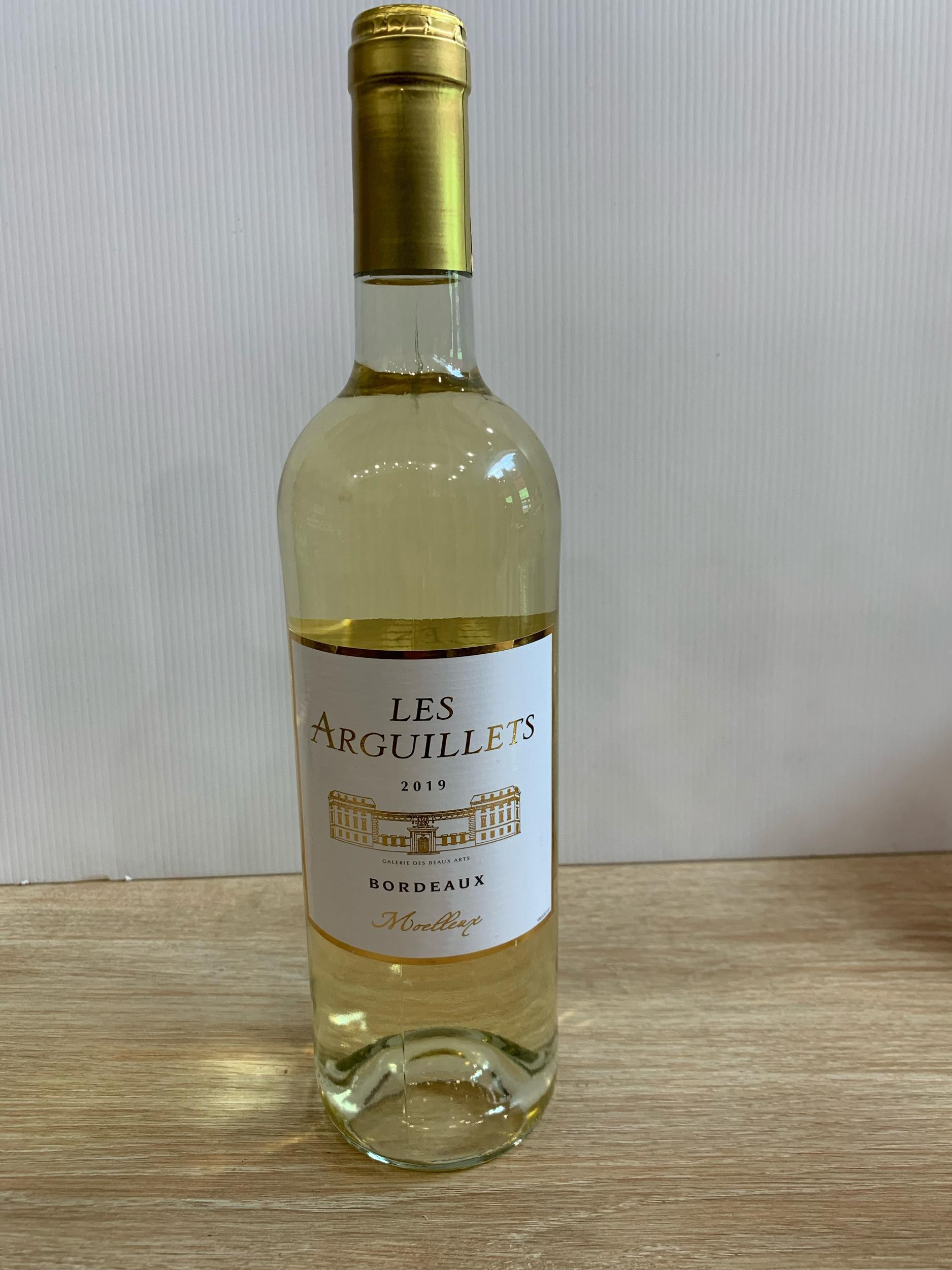 Bordeaux blanc moelleux  Les Arguilets, 75 cl