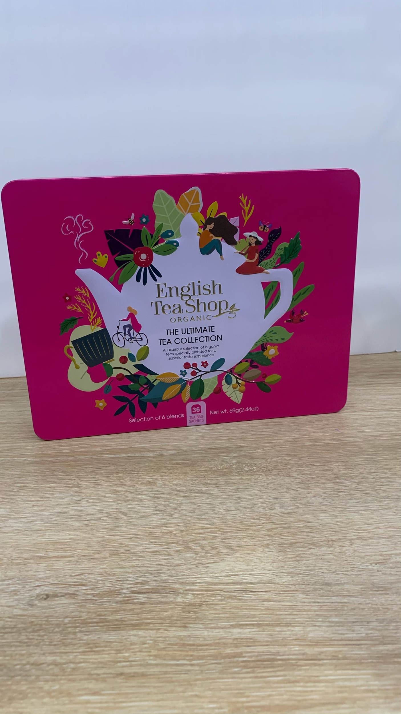 Coffret métallique  The Ultimate Tea Collection  - 36 sachets de thés et infusions BIO