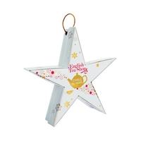 """Thés & infusions BIO """"Etoile de Noël"""" - 6 sachets pyramides - 6 parfums"""